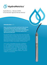 Hydrometrics Brochure Chinese Thumbnail Small